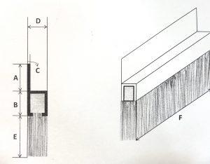鋁座鐵片刷尺寸