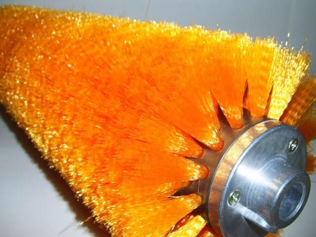 毛刷輪修毛後|尼龍輪刷製造