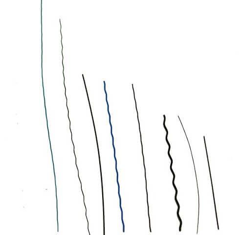 波浪毛料與直狀毛料|尼龍毛刷絲