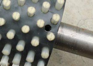 輪刷植入圓柱銷|台中輪刷植毛